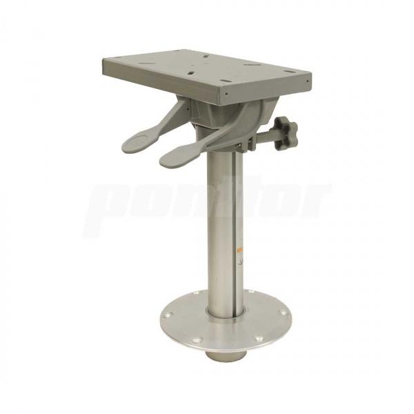 Stuhlfuß abnehmbar, mit Schlitten, Plug-In, feste Höhe 38 cm