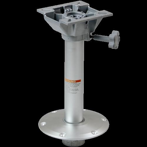 Stuhlfuß abnehmbar, mit drehbarer Kopfplatte, Plug-In, feste Höhe 38 cm