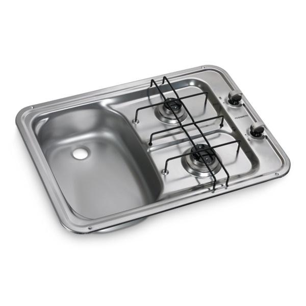 DOMETIC Einbau Koch- / Spül-Kombination / Spüle links HS 2420 L