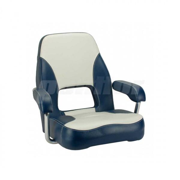 """Bootssitz """"AMMERSEE"""", cremeweiss und blau"""