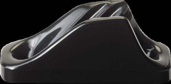 Clamcleat CL204 MINI Nylon Klemme für Tauwerk 3-6 mm, schwarz