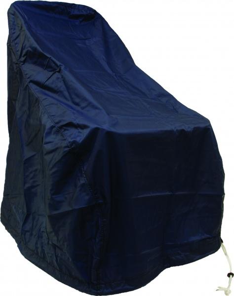 Schutzbezug für Steuerstuhl, Nylon, blau