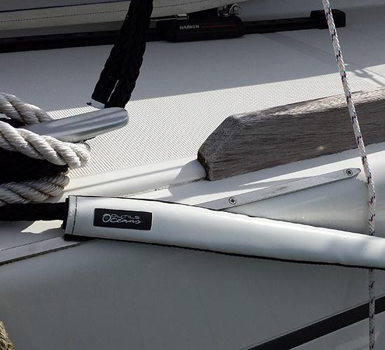 Outils Océans - Anlegeleinenschutz - zum Schutz der Festmacher und Bootskante