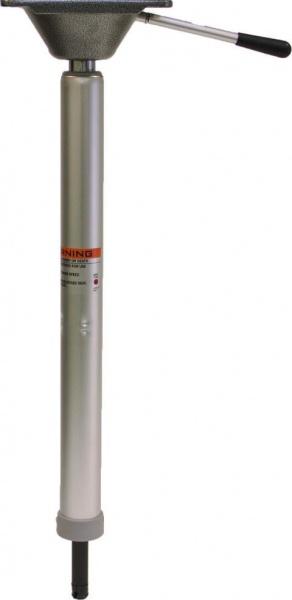 Stuhlfuß mit Plug-In System, schnelle Montage, höhenverstellbar per Gasdruckfunktion von 57-74 cm, m