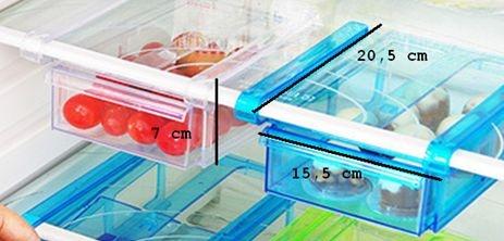 Gimex - Kühlschrank Einschubfach 2er Set