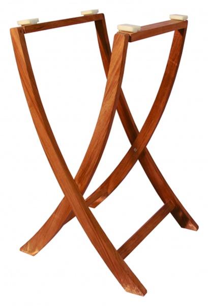 EUDE - Teak Tischgestell, 75 x 42 cm