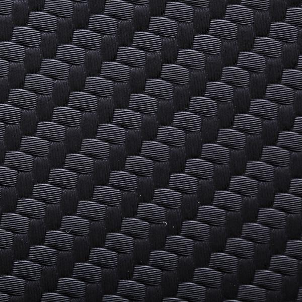 Vinylleder, schwarz carbon, 5 m