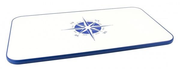 Tischplatte aus melaminbeschichteter Spanplatte, 70 x 40 cm