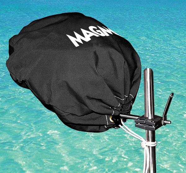 Magma Grillabdeckung für Kettel Grill Durchmesser 385 cm, jet black