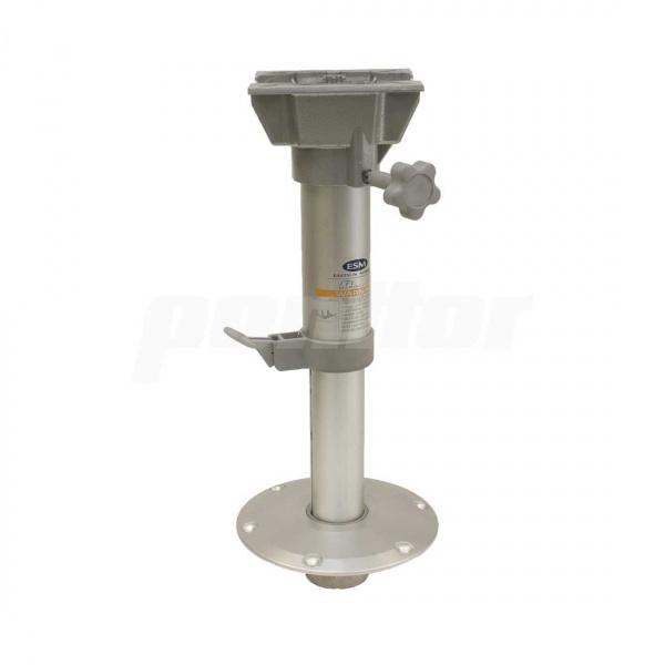 Stuhlfuß abnehmbar, Plug-In, mit drehbarer Kopfplatte, manuell einstellbar 33 - 48 cm