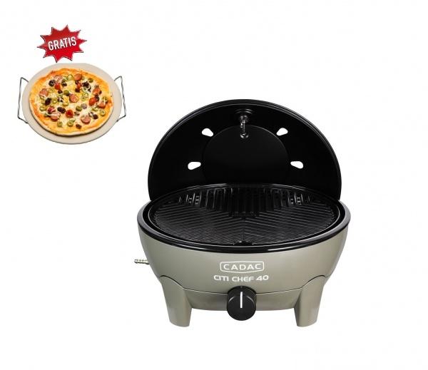 CADAC - Citi Chef 40, Gasgrill, 50mbar, olivgrün