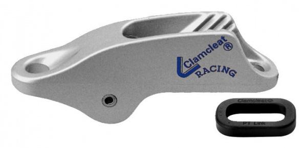 Clamcleat CL253 Trapezklemme für Tauwerk 4-8 mm, silber