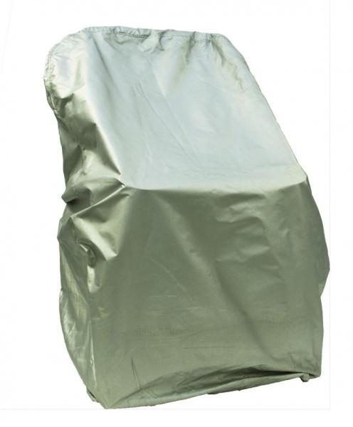 Schutzbezug für Steuerstuhl, Nylon, silber