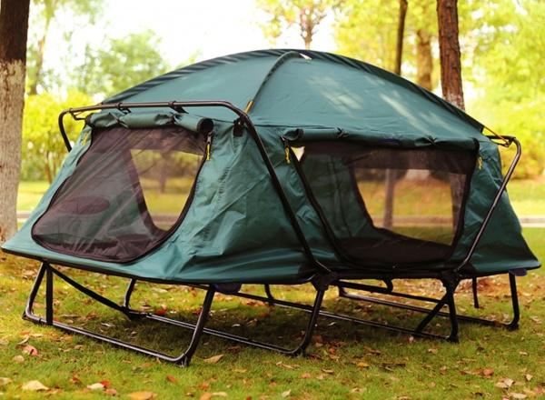 Off-Boden Doppel-Multifunktionszelt für Camping, Reise, Angeln und Picknick