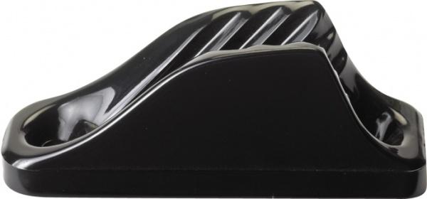Clamcleat CL201 vertikal Nylon Klemme für Tauwerk 6 - 12 mm, schwarz