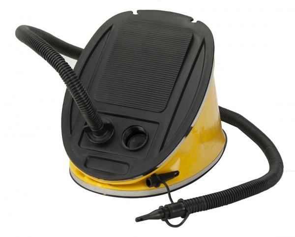 Luftpumpe / Fußpumpe | 5 Liter | mit 3 Adaptern