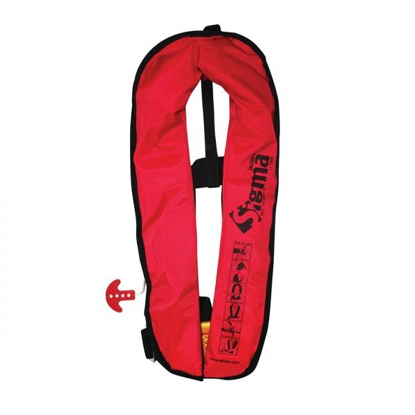 Lalizas aufblasbare Rettungsweste Sigma 170N, CE ISO 12402-3, für Erwachsene, automatisch