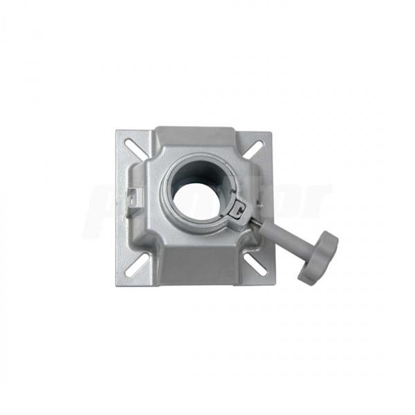 Drehkopf aus Aluminium, für Stuhlfüße mit Ø 6,0 cm