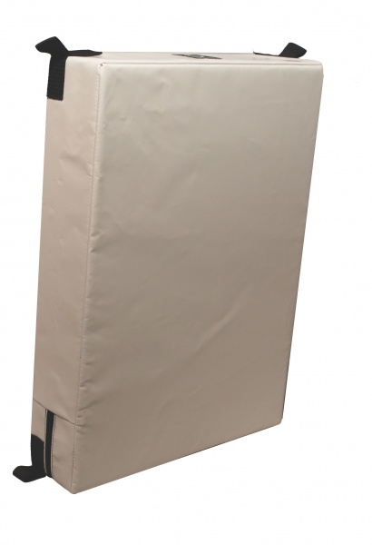 Outils Océans - Fendermatte weiß, 55 x 40 x 10 cm
