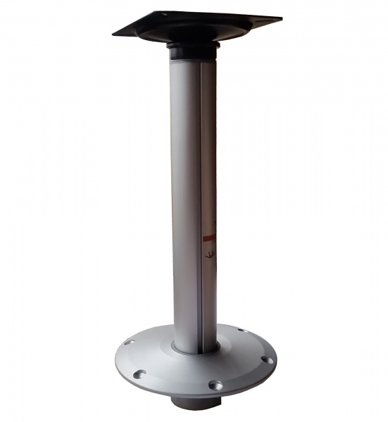 Stuhlfuß abnehmbar, mit abnehmbarer Sitzplatte, Plug-In, Hi-Low, feste Höhe 38 cm