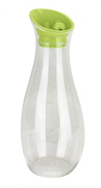 Gimex - Karaffe, 1L, mit Schwingdeckel, grün