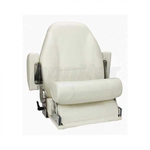 """Bootssitz """"ILLER"""", Flip-Up-Funktion, verstellbare Rückenlehne und klappbare Armlehnen (Schaniere aus"""