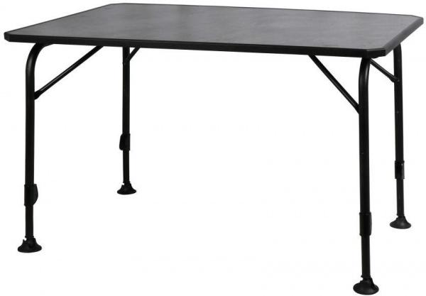 Westfield Avantgarde Universal Camping Tisch, 120x80x63/76 cm, schwarz