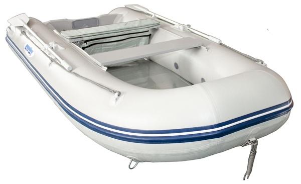 Ponttor Schlauchboot - HSD 320 mit Aluminiumboden, grau