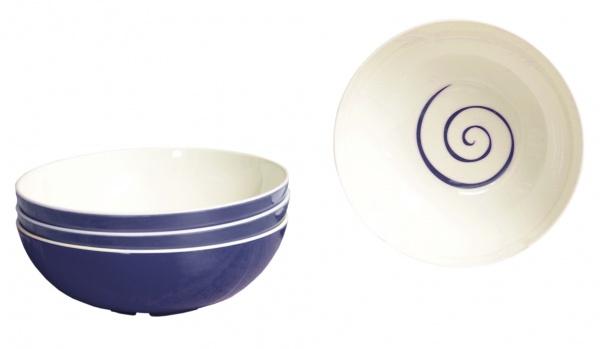"""Gimex - """"CLASSIC LINE TWIST"""" - Schalenset, 4 tlg., blau"""
