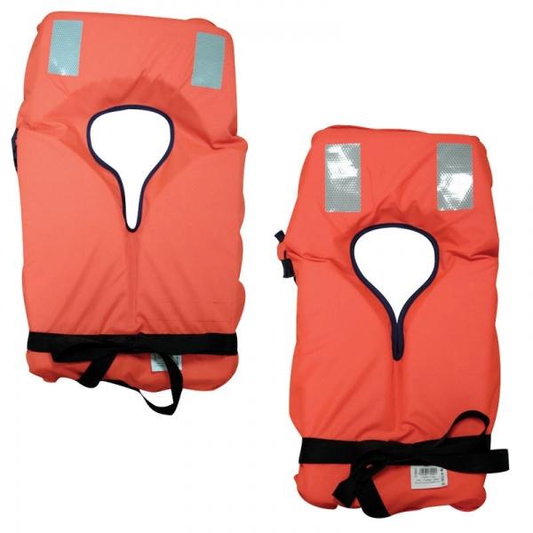 Lalizas Feststoff - Rettungsweste mit Gürtel 100N, CE ISO 12402-4, für Erwachsene >40 kg
