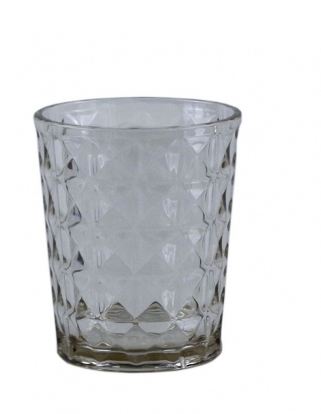 "Gimex - ""STONE LINE"" - Wasserglas, 2 tlg, sand"