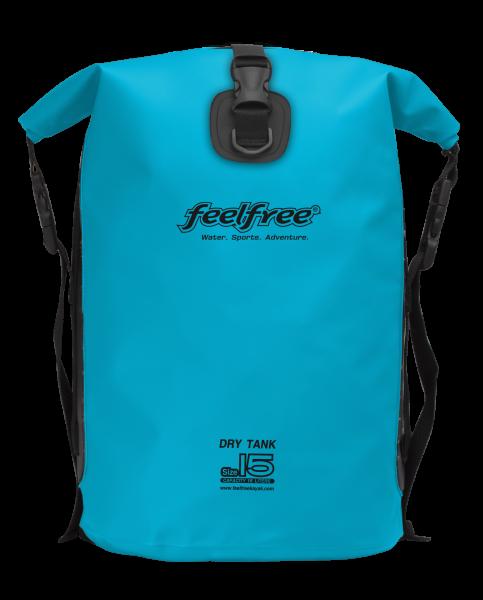 "FeelFree Rucksack ""Dry Tank"", 15L, hellblau"