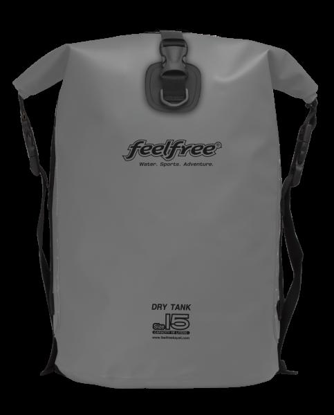 "FeelFree Rucksack ""Dry Tank"", 15L, grau"