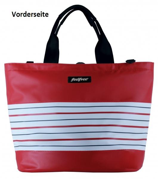 """FeelFree Handtasche """"BRETON TOTE-Breton Rouge"""", Größe XL"""