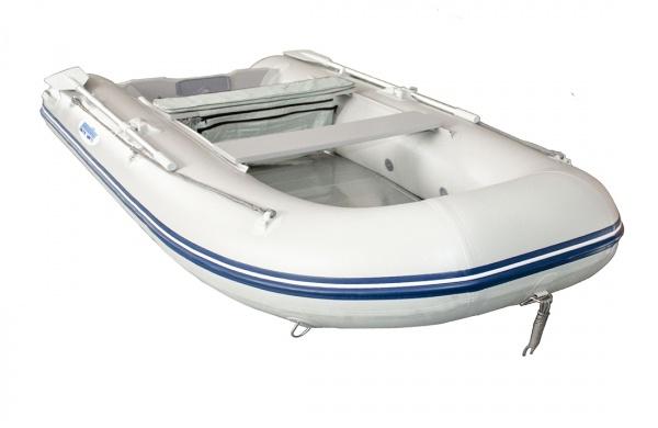 Ponttor Schlauchboot - HSD 270 mit Aluminiumboden, grau