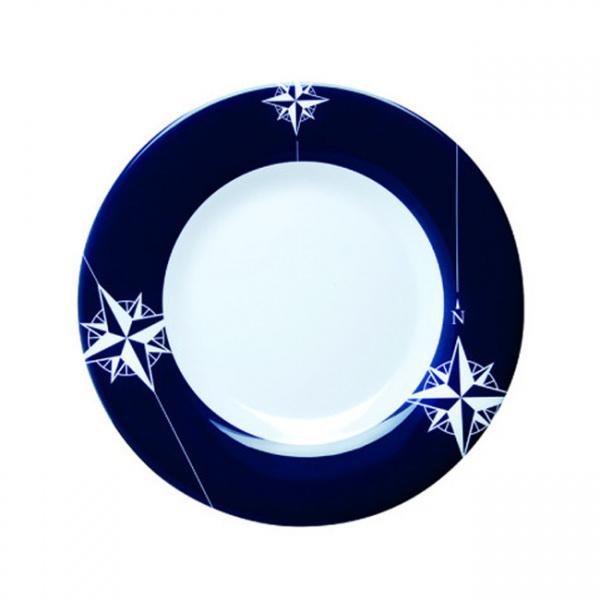 """MARINE BUSINESS - """"NORTHWIND"""" - Dessertteller, 22 cm, rund, - einzeln"""