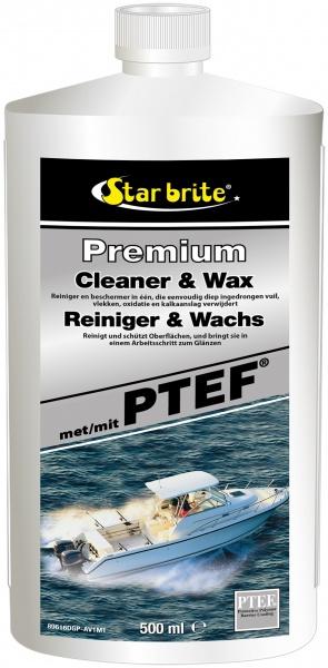 Star brite - Premium Reiniger & Wachs mit PTEF®, 500 ml